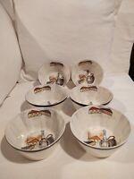 Royal Sealy Capri Set 6 Bowls