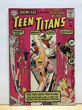 SHOWCASE #59 [1965 VG] TEEN TITANS 3rd Appearance DC Comics