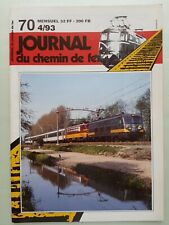 Revue Journal du Chemin de Fer  – n° 70 -  Avril 1993