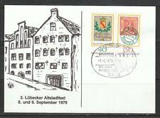 XXA 28) Sonderkarte Lübecker Altstadtfest 1969! 2 Scans!