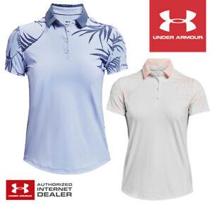 Under Armour Women's Iso-Chill Short Sleeve Golf Shirt - NEW! 2021 *MULTI-BUY!*