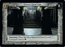 LOTR TCG Council Courtyard 0P4 PROMO VERY FINE