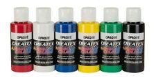 Createx kit 6 colori coprenti 60 ml per aerografo (115299)