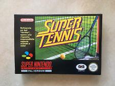 Super Nintendo jeu Super Tennis BRAND NEW NEUF sans blister (SNES super NES )