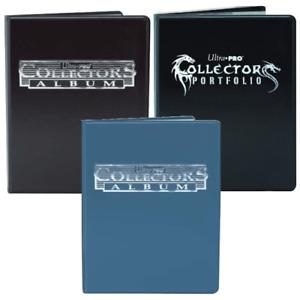 Ultra Pro 4 or 9 Pocket Collectors Album Binder Black Blue Card Folder Portfolio