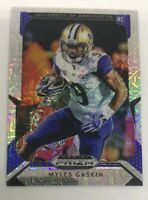 2019 Prizm Draft Picks Myles Gaskin #132 RC 47/49 Mojo Parallel Washington