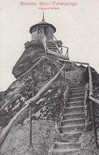 Postkarte - Waldstein / Fichtelgebirge - Aufgang zur Schüssel