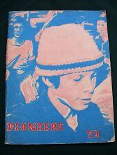 Roseburg Oregon Joseph Lane Junior High School 1973 Pioneers Annual Year Book