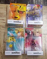 Nintendo Amiibo ROSALINA SHULK PAC-MAN CAPTAIN FALCON Super Smash Bros. SEALED!!