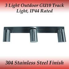 3 Light Bar Adjustable 304 Stainless Steel GU10 IP44 Exterior Wall Light
