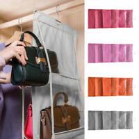 Six-layer Handbag Bag Storage Hanging Organizer Container Household Holder Decor