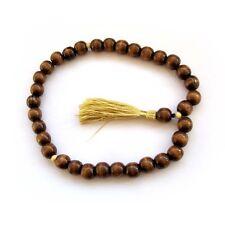 13mm--Wood Tibet Buddhist Prayer Beads Mala Bracelet Jewelry--33Beads