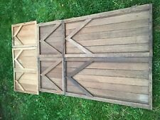 Assorted Gothic Arched Oak Doors salvaged from 17th Century House