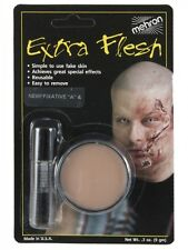 Mehron Extra Flesh Fake Skin with Fixative A Special Effects Scar Wounds Make up