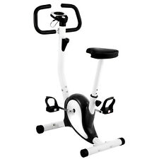 Exercise Bike Upright Cycling  Health Fitness Bicycle Stationary Machine B&W