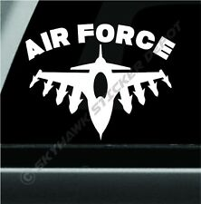 United States Air Force Sticker Decal F-16 Fighting Falcon Sticker Macbook Air