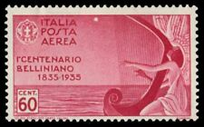 """ITALY C81 (Mi540) - Vicenzo Bellini """"Composer"""" Muse Playing Harp (pf32581)"""