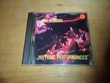 CD  Jimi Hendiix  Historic Performances