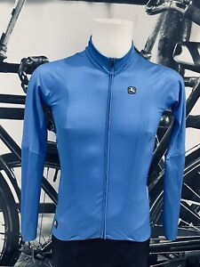 Giordana Cycling FR-C Pro Lightweight Long Sleeve Jerseys|Light Blue-Size M