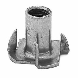 Metric (M10) T-Nuts for Sofa Legs, Set of 6