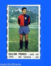 CORRIERE DEI PICCOLI 1966-67 - Figurina-Sticker - GALLINA - GENOA -New