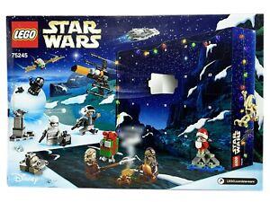 LEGO Star Wars Adventskalender mit Figuren Disney Advents Kalender 75245
