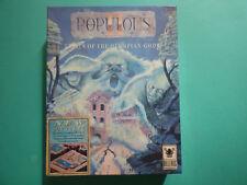 POPULOUS 2 II TRIALS OF THE OLYMPIAN GODS PC BIG BOX FLOPPY DISKS ULTRA RARE