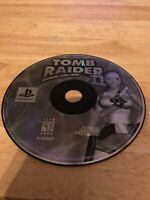 Tomb Raider II Starring Lara Croft (Sony PlayStation 1, 1997) Working Game Only