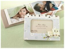 Lillian Rose Blue Baby Boy Photo Album with Photo Frame On Cover 24PH210 OB