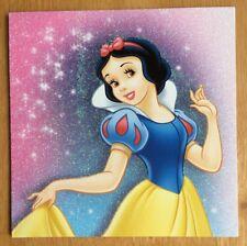 "'Snow White' Disney Princess Christmas Card - 5.5""x5.5 - Glitter"