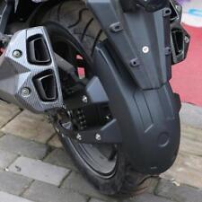 Motorcycle Plastic Rear Wheel Cover Fender Splash Guard Mudguard with Bracket