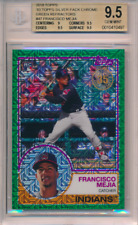 2018 Topps '83 Silver Chrome Green Refractor /99 Francisco Mejia BGS 9.5 POP 2