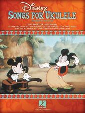 Disney Songs for Ukulele Sheet Music Ukulele Book NEW 000701708