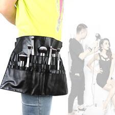 24 Pockets Cosmetic Makeup Brush Apron + Artist Belt Strap Professional Bag