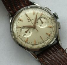OMEGA MENS Manual wind Chronograph circa 1960 REF 2463 BIG WATCH 37 MM  cal 320
