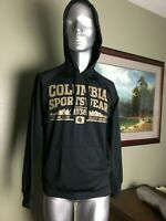 Mens Columbia Sportswear Company Black Pullover Shirt Size S