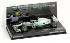 MINICHAMPS 130180 BX MERCEDES AMG F1 model Showcar Lewis Hamilton 2013 1:43rd