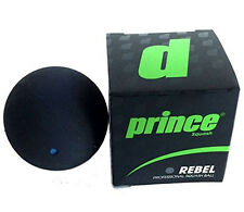 PRINCE PRO REBEL BLUE DOT SQUASH BALLS (1) NEW IN BOX