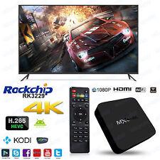 OTT IPTV Box 4K Ultra HD Android 5.1 Quad Core RAM:1GB/ROM:8GB Internet TV MXQ4K