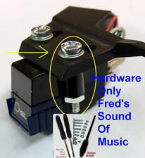 Headshell Cartridge Turntable Stylus Brush Cleaner Screw 19Pc Kit Technics Best