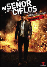 El Senor de los Cielos: Segunda Temporada, Vols. 1 de 2 (DVD, 2015, 6-Disc Set)