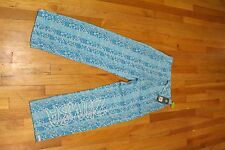 ZUMBA TRIBE N TRUE JERSEY PANTS BANGIN BLUE SIZE XS NEW WITH TAGS