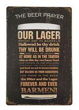 Metal Vintage Tin Plaque Pub Decor Tavern Bar Sign Wall Poster Shop Retro Home