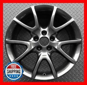 """DODGE DART 2013 2014 2015 2016 Factory OEM Wheel 17"""" Rim DARK CHARCOAL 2481 #R"""