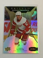 F60381  2019-20 Upper Deck Trilogy #59 Taro Hirose RC /999 red wings