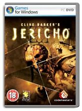 Clive Barker's Jericho (PC DVD), Very Good PC, Windows XP Video Games
