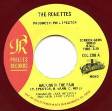 RONETTES ~ WALKING IN THE RAIN -- MAROON VINYL -- '64 / '65 PHILLES