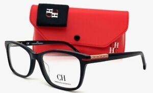 Carolina Herrera VHE729 0700 Black / Demo Lens 53mm  eyeglasses