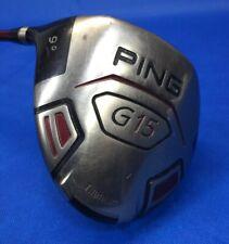 PING G15 Driver 9 Degrees TFC 149D Graphite Stiff Flex Left-Handed 8/10