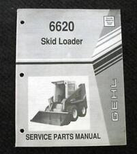 ORIGINAL GEHL 6620 TRACTOR SKID STEER LOADER PARTS MANUAL CATALOG VERY GOOD